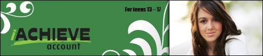 iAchieve Account (for teens 13 - 17)