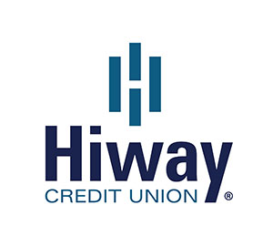 Hiway Federal Credit Union vertical logo